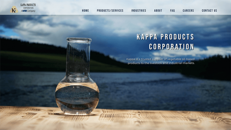 Kappa Products Screenshot